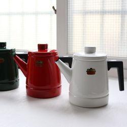 후지호로 법랑 허니웨어 솔리드 커피 포트 (1.6L)