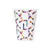 색동 패턴 종이컵 (10P)