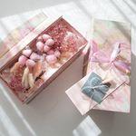향기가득 핑크 목화 플라워용돈박스