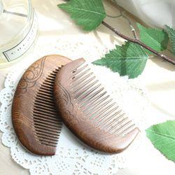박달나무 원목나무빗 천연나무빗 머리빗