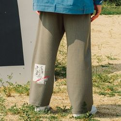 ARCHERY WIDE TWO TUCK PANTS CHECK