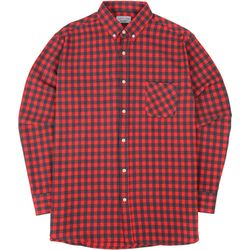 S.OVERSIZED 54 CHECK  SHIRTS PINK