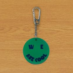 RUBBER KEY HOLDER COOL GREEN