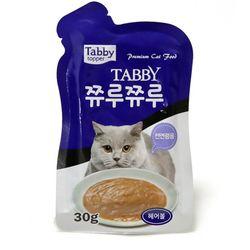 테비 쮸루쮸루 헤어볼 30g고양이간식스프
