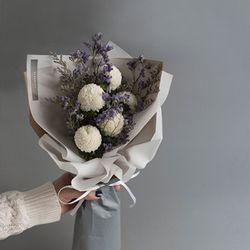 퐁퐁 미스티블루 꽃다발 선물