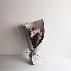 튤립 꽃다발 여자친구 프로포즈 선물