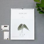 2018 Slow Life Wall Calendar