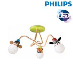 [필립스]K-47050 New 동물농장3등 천정등-어린이방등