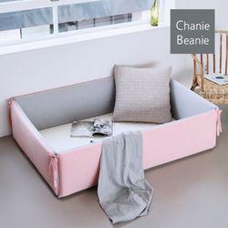 [채니비니] 아기 범퍼침대 특대형 모던 핑크