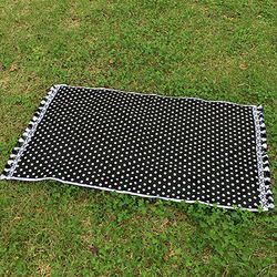 Black Dot - Beach Towel