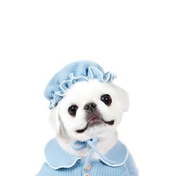 OH MY BABY Pajama Hat - DBlue