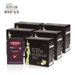 행복한 농장 마녀 풋사과즙 5박스+리얼팥물 1박스