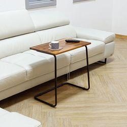 멀바우원목 사이드 테이블