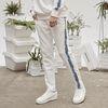 retainer tape sweat pants (ivory)