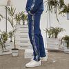 retainer tape sweat pants (cobalt blue)