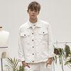 rc white twill jacket
