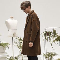 hoist over long coat (brown)