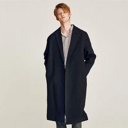JAKE OVERFIT LONG COAT (BLACK)