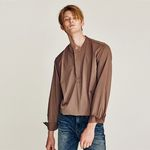GORGEOUS OVERFIT SHIRTS (BROWN)