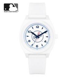 MLB 우레탄 밴드 남녀공용 패션시계 MLB923LA-CBL