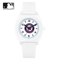 MLB 우레탄 밴드 남녀공용 패션시계 MLB923WN-CBL