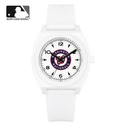 MLB 우레탄 밴드 남녀공용 패션시계 MLB923WN-CBK