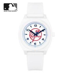 MLB 우레탄 밴드 남녀공용 패션시계 MLB923NY-CBL