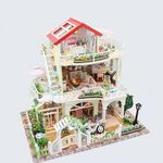 [adico]DIY 미니어처 풀하우스 - 가든 하우스