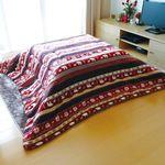 정방형 코타츠 이불 - 시로쿠마(190X190cm)