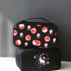 WITHALICE 트레블 속옷 파우치 VER.2 Peach black