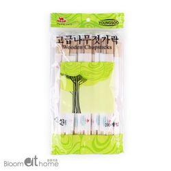 일회용 자작나무 젓가락 30개 1세트