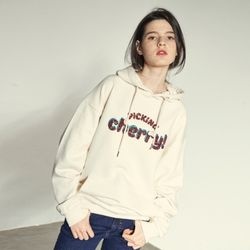 SPANGLE PULLOVER HOODY(IV)