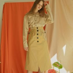 POCKET SKIRT (BEIGE)
