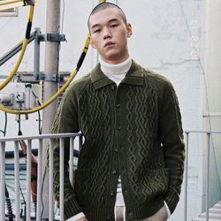 Knit Cardigan (U17DTJK50)