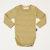 Yellow Stripe Golgi Bodysuit