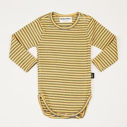 Yellow Stripe Golgi Bodysuit