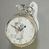 (klgz0467) 크롬 고양이 양면시계 (260)