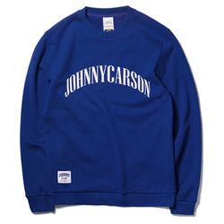 자니카슨 아크 로고 기모맨투맨 - BLUE