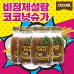 코코엘 플라워 코코넛 슈가 300g 4통비정제설탕