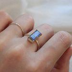 래브라도라이트 클래시 반지 labradolite classy ring