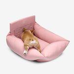 강아지 꿀잠 카시트 Pink S(중형견까지)