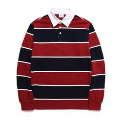 위씨 트리플 럭비 티셔츠 레드 (WDTS214)