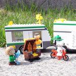 피넛츠 블럭 Beagle Scout 캠핑카 (7513)