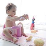 라호 베이비몬 유아 논슬립 바스 목욕의자&매트