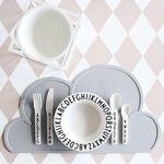 빠띠라인 실리콘 구름 식탁 매트