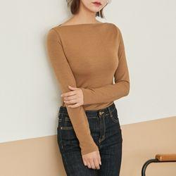 [로코식스] neckline point t-shirts티셔츠