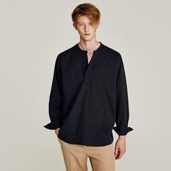GORGEOUS OVERFIT SHIRTS (BLACK)