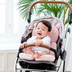 코니테일 사계절 라이너 - 핑크도트 (유모차라이너)