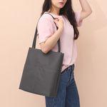 [루버킨] Fanning Shoulder Bag - GRAY