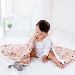 코니테일 코지 블랭킷 - 후르츠 (극세사 아기담요)